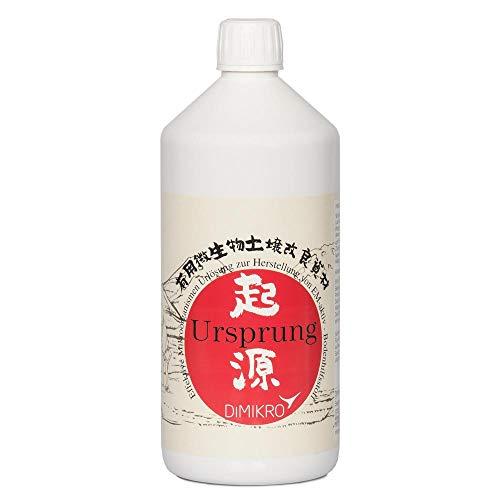 DIMIKRO Ursprung Urlösung - traditionell japanische EM Urlösung 1 Liter (Herstellung von EM-aktiv) Bodenaktivator mit Effektiven Mikroorganismen Bodenhilfsstoff
