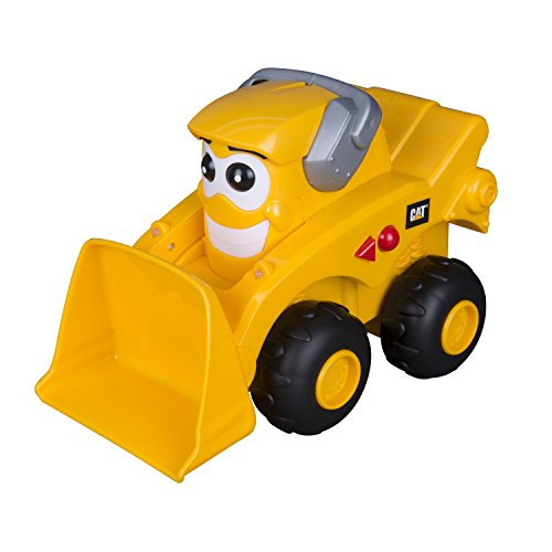 Toy State Caterpillar CAT Buildin' Crew Move & Groove Machines Mighty Marcus Skid Steer Light & Sound Vehicle