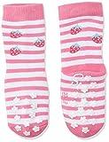 Sterntaler ABS-Krabbelsöckchen, Doppelpack, Erdbeer-Motiv, Alter: 18-24 Monate, Größe: 21-22, Rosé (Orchidee)