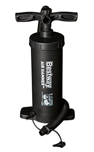 "Bestway 12"" Hammer Inflation Air Pump-Black, 12 Inch"