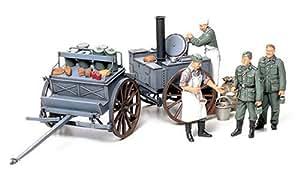 Tamiya 1/35 WWII German Field Kitchen Scenery by Tamiya America, Inc (English Manual)
