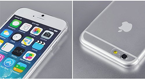 Inktree Brand Ultra thin 0.3mm Tpu Soft Silicon rubber Crystal Clear Case Cover For Apple iphone 6 iphone 6 4.7inch