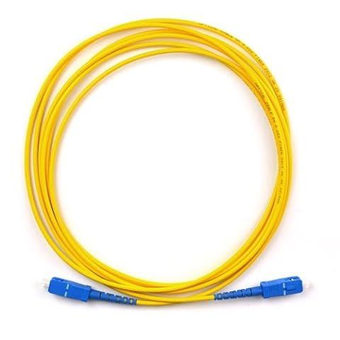 SC SC single mode de câble Fibre Optique Patch SC à SC Optical connecteur 3m 5m 10m 15m 15m