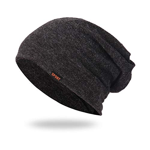 Chelsea Knit Beanie (iHENGH Unisex Mütze Damen Herren Baggy Warm HäKeln Winter Wolle Stricken Ski Beanie Skull Slouchy Caps Strickmützen Hat Street Classics 44-60cm)