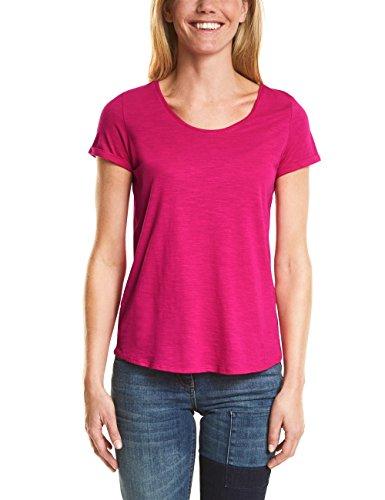 Cecil Damen T-Shirt 311994 Anisa, Pink (Galaxy Pink 11368), X-Large