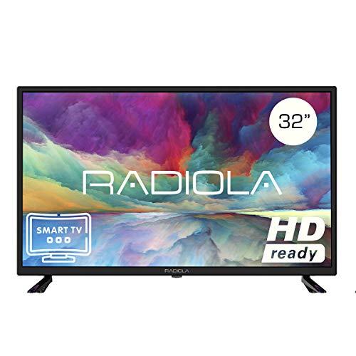 Televisor Led 32 Pulgadas HD Smart TV. Radiola LD32100KA