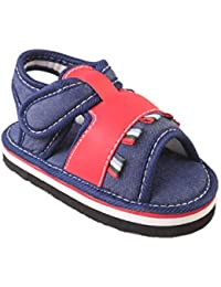 CHIU Exclusive Chu Chu Sound Red Sandals for Baby Boys & Baby Girl