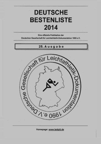 Deutsche Bestenliste 2014 por Dgld Leichtathletik