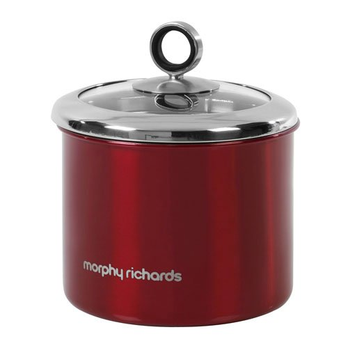 morphy-richards-accents-small-storage-canister-with-glass-lid-red