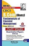 Fundamentals of Financial Management for B.Com Hons Semester 5 for Delhi University by Shiv Das