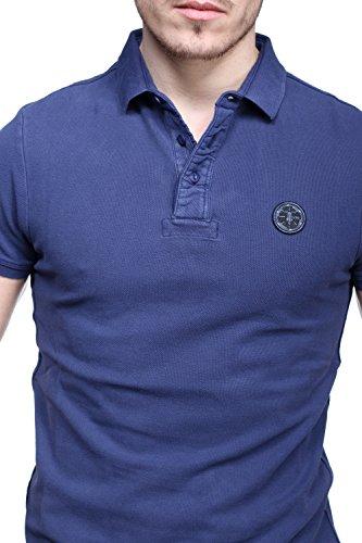 Le Temps des Cerises Herren Poloshirt Blau