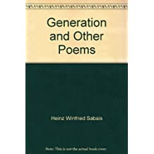 Generation and Other Poems