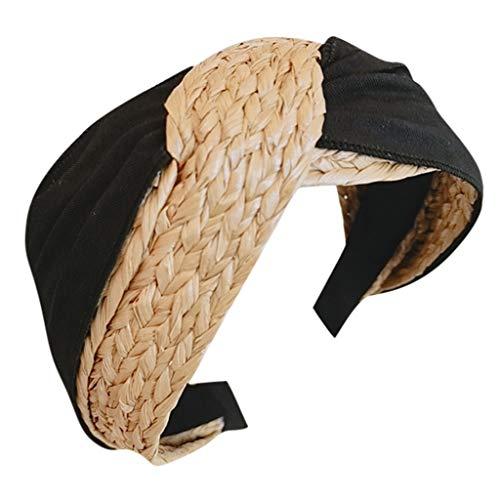 LILIHOT Haarreife Damen Stirnband Kopfband Stirnbänder Haarspange Haarband Headband Frauen Stirnband Stoff Haarband Kopf wickeln Haarband Zubehör