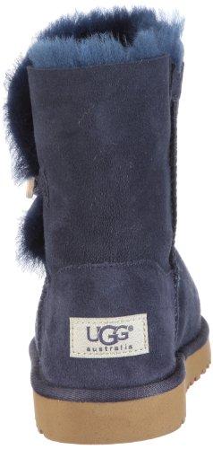 Ugg Australia Bailey Button Rasprose Classic, Boots fille Bleu