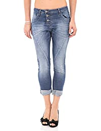 PLEASE - P78 femme wrinkled jeans