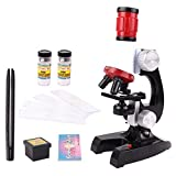 Soriace reg; 100x 400x 1200x Microscope Set, Educational Microscope Kit / Science Toys for Early Education fits Kids or Chidren