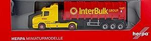 Herpa 305273-Scania hauber Bulk Contenedor de sillín Tren boere, IBC NL
