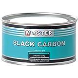 Master troton Black Carbon Masilla poliéster con fibra de carbono 0,5L Incluye Endurecedor