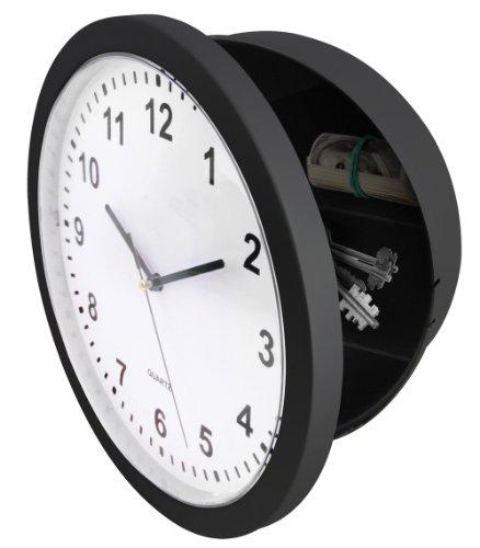 WALL-CLOCK-WITH-HIDDEN-SAFE-10-X-10-SILVER