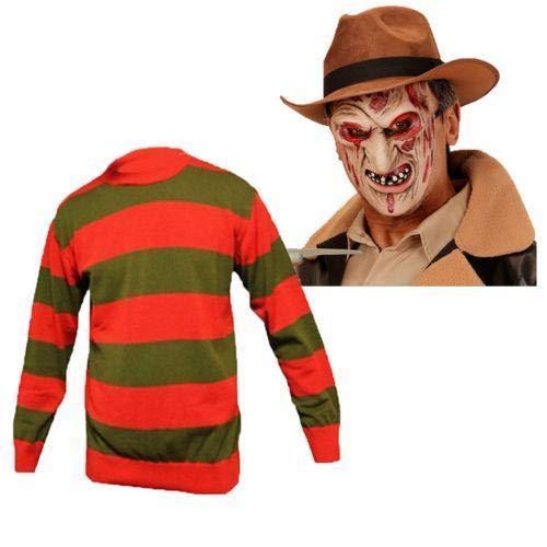Kostüm Girl Freddy - B-Creative Freddy Kruger Jumper Latex Maske Halloween Fancy Kleid Boys Girls Kostüm Cosplay