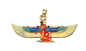 Superbe Pendentif Egyptien Aile d'Isis