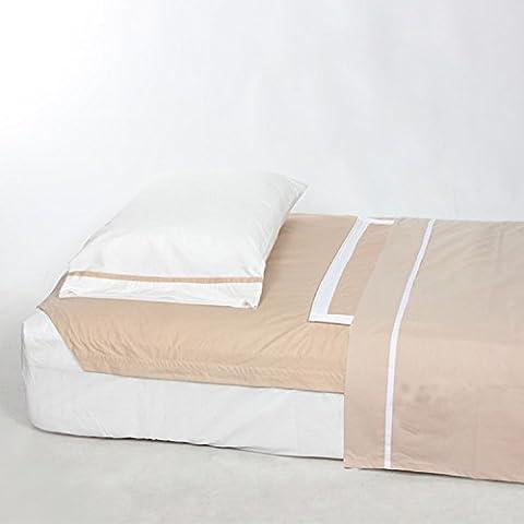 Single Bed Linen 90cm x 190cm Beige