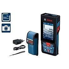 Bosch Professional GLM 120 Laser Rangefinder (App Function, Measuring Range: 0.08, 120 m, in Canvas Bag)