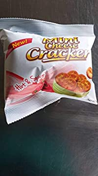 Mini Cheese Cracker - Hot & Spicy (Pack of 2) 100gms