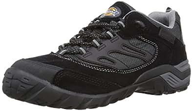 Dickies Men's Dalton Trainer Safety Shoes FD9200 Black 5.5 UK, 39 EU Regular