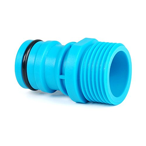 Quantum Garden – Ligne bleue – 2,5 cm Accessoire ou Raccord de robinet – Filetage mâle