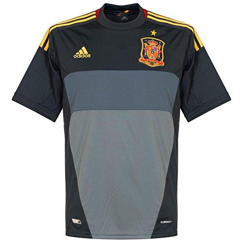 Adidas Spanien Torwarttrikot Herren Trikot Away Jersey Spain Grau L