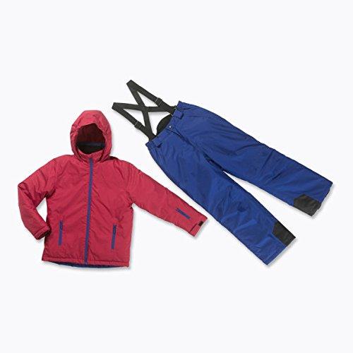 Skianzug 2tlg. Funktioneller Skianzug Für Jungen Gr. 152 Farbe. Chili/Blau Schneeanzug Thinsulate Skijacke