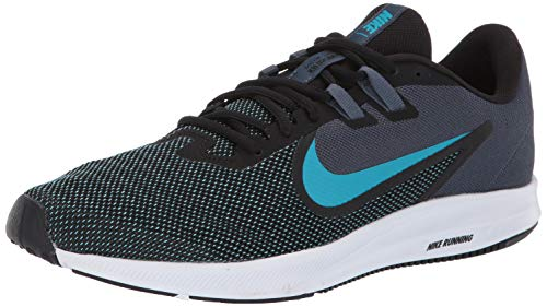 Nike Downshifter 9, Zapatillas de Running para Hombre, Negro Black/Blue Lagoon/Monsoon Blue/White 003...
