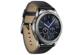 Samsung Gear S3 Classic (3,3 Cm (1,3 Zoll) Display, Nfc, Bluetooth, Wlan, Tizen Os), Mit Echtleder-armband 3