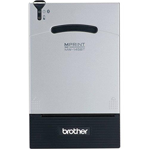 Brother MW-145BT - Impresora térmica portátil A7 (Velocidad de 4 ppm y resolución de 200 PPP, conexión Bluetooth y USB)