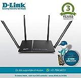D-Link DIR-825 AC 1200 Wi-Fi Dual-Band Gigabit (LAN/WAN) Router (Not a Modem)