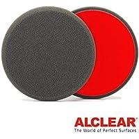 ALCLEAR Set di 2 dischetti di finitura anti ologrammi per un sistema disco Ø 160x30 mm, antracite - ukpricecomparsion.eu