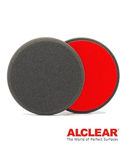 ALCLEAR 5516030F Finishpad gegen Hologramme, Durchmesser : 160 x 30 mm, anthrazit ,2er Set (Hologramm-stoffe)