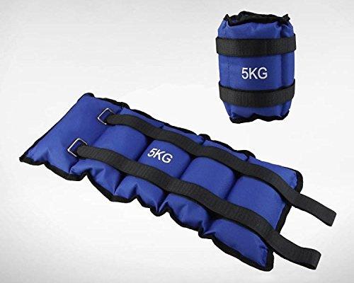 Pesi per caviglie e polsi sport fitness cavigliere (2.5kg l'una totale 5kg)