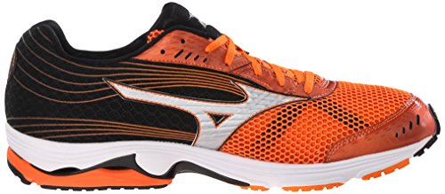 Mizuno Wave Sayonara 3 Synthétique Chaussure de Course Orange-Grey-Black