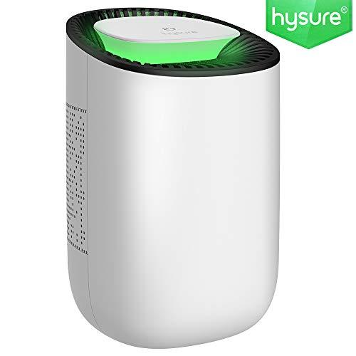 Mini Luftentfeuchter 600ml Raumentfeuchter kompakter und tragbarer Entfeuchter leise Dehumidifier in der Küche im Schlafzimmer Büro und Garage zu Hause, gegen Feuchtigkeit, Schmutz und Schimmel