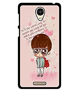 Fuson 2D Printed Quotes Designer back case cover for Xiaomi Redmi 3S - D4426