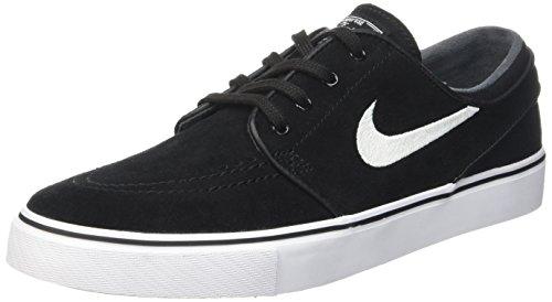 Nike Zoom Stefan Janoski Herren Skateboardschuhe Nero (Black/White)