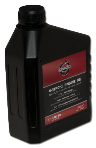 Briggs and Stratton Genuine 100006 1.4L E-Engine Oil SAE 30 pas cher