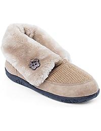 Padders textil Women 'Eden'   Con forro de piel sintética de lujo   Anchura extra grande EE   talón de 20mm  Cuerno de zapato libre