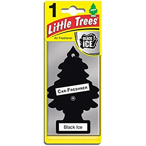 Car Freshener 10155 Little Tree Air Freshener-Black
