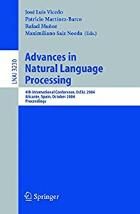informatica vicedo: Advances in Natural Language Processing: 4th International Conference, EsTAL 200...