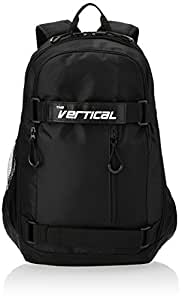 The Vertical Thunder Black Casual Backpack (VR/THU01BP/PRO2015)