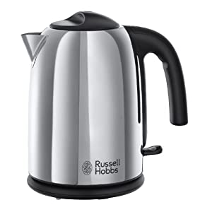 Russell Hobbs Hampshire Kettle 20410, 1.7 L - Polished Stainless Steel Silver