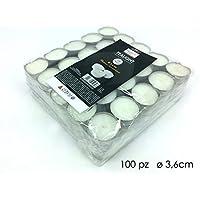 girm®–ge940963velas Tea Light blancas 3,6cm (conf. 100piezas)